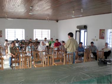 Capacitación ambiental en municipios del sud – este boliviano