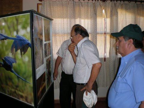 MUESTRA FOTOGRÁFICA DEL PANTANAL BOLIVIANO  ESTUVO EN SAN IGNACIO DE VELASCO