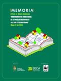 SBDA presenta memoria de Foro sobre Ordenamiento Territorial en Municipios