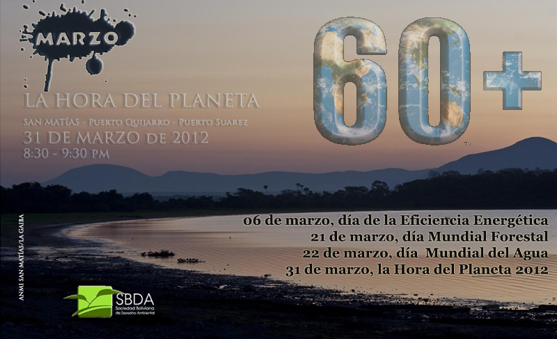Calendario Ambiental Marzo