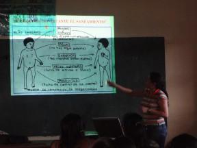 Entrega del Plan de Saneamiento Básico en la Comunidad de Palmarito