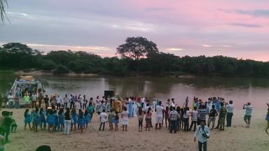Expedición en el Río Paraguay