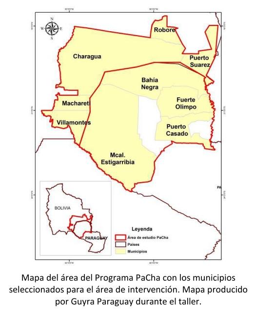 mapa pacha